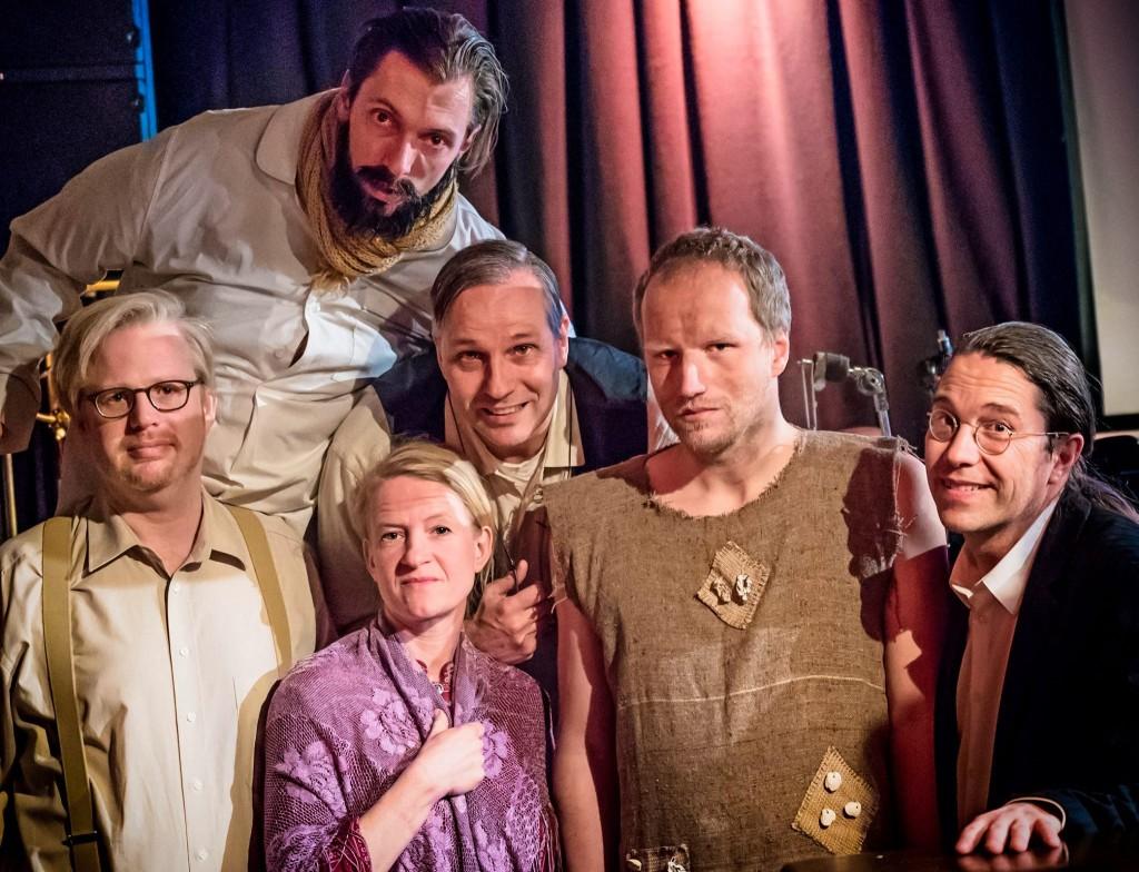 v.l. Claudius Bruns, August Geyler, Susanne Bolf, Armin Zarbock, Andreas Richter, Frank Berger