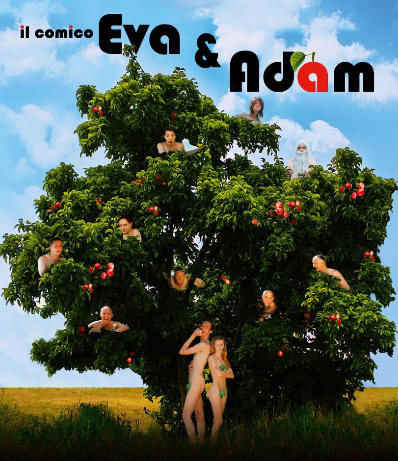 Eva und Adam (von Falko Köpp)